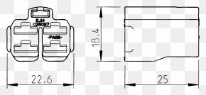 Technical Drawing - Paper Technical Drawing Floor Plan Furniture PNG