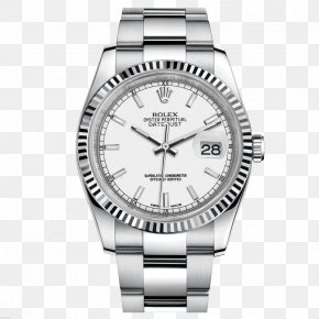Silver Rolex Watch Male Table - Rolex Datejust Rolex Submariner Watch Bezel PNG
