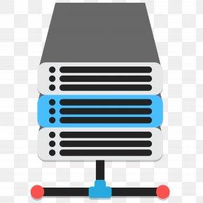Vector Cartoon Website Server Rack - Web Server Download Computer Network PNG