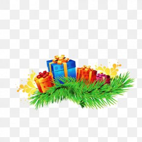Gift - Christmas Gift New Year PNG
