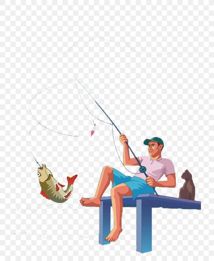 Fishing Rod Fish Hook Angling Fisherman Png 720x1000px