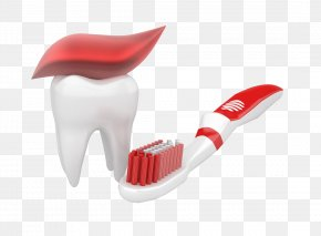 Tooth And Toothbrush - Toothpaste Toothbrush Drawing Illustration PNG