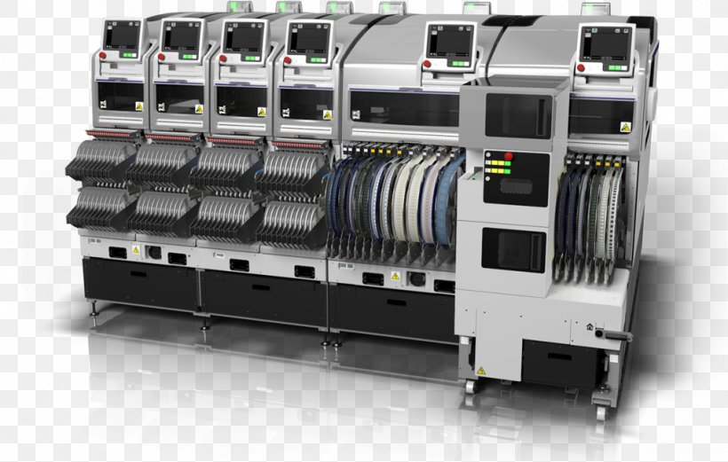 SMT Placement Equipment Electronics Surface-mount Technology Manufacturing Machine, PNG, 1018x647px, Smt Placement Equipment, Ball Grid