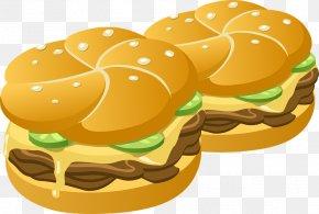 Hot Dog - Hamburger Cheeseburger French Fries Hot Dog Clip Art PNG