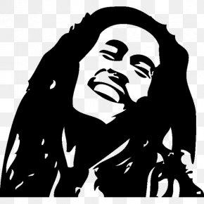Bob Marley - Bob Marley Reggae Musician One Love/People Get Ready PNG