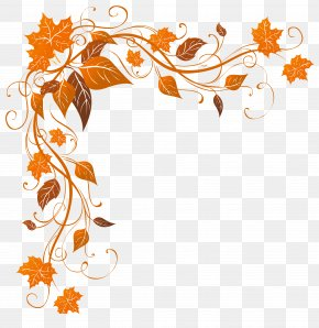 Transparent Autumn Decoration Clipart Image - Autumn Leaf Color Stock Photography Clip Art PNG