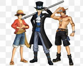 One Piece - One Piece: Pirate Warriors 3 Monkey D. Luffy Portgas D. Ace Dracule Mihawk PNG