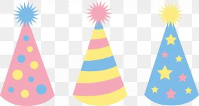 Toddler Party Cliparts - Party Hat Birthday Clip Art PNG