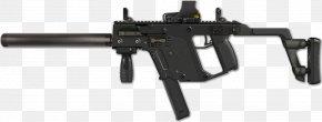Machine Gun - KRISS Vector Submachine Gun Weapon .45 ACP Heckler & Koch MP7 PNG
