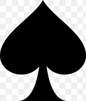 Gardening - Ace Of Spades Playing Card Clip Art PNG