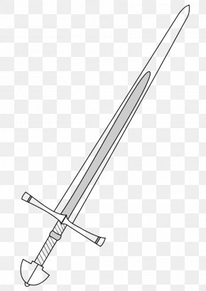 Free Sword Cliparts - Knightly Sword Classification Of Swords Weapon Clip Art PNG