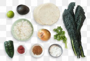 Lacinato Kale - Vegetarian Cuisine Recipe Ingredient Food Dish PNG