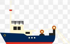 Cartoon Vector Ship - Cargo Ship Watercraft PNG