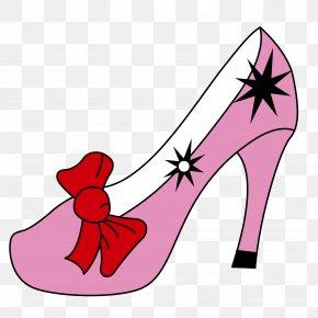 Pink High Heels - Pink High-heeled Footwear Shoe PNG