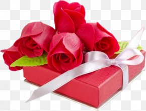 Rose Gift Box - Valentines Day 2018 Greeting Card Love PNG