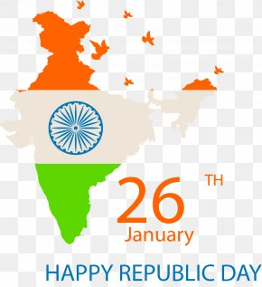 Map India National Day Poster - India Vector Map PNG