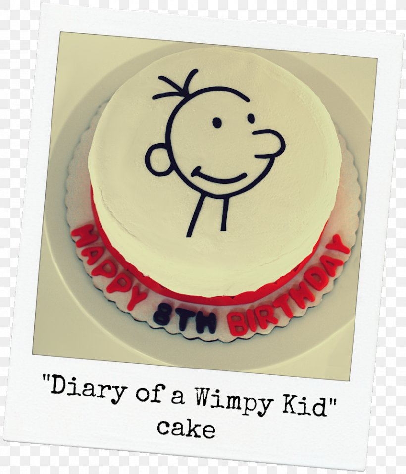 Brilliant Torte Birthday Cake Frosting Icing Diary Of A Wimpy Kid Cake Personalised Birthday Cards Veneteletsinfo
