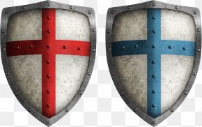 Ancient Crusader Shield - Crusades Middle Ages Shield Stock Photography Illustration PNG
