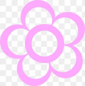 Flower Outline Clipart - Flower Petal Clip Art PNG
