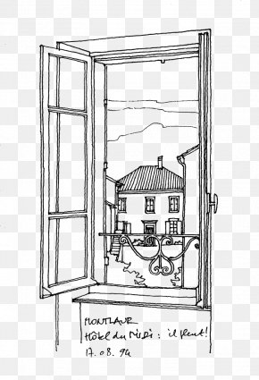 Building Artwork - Window Architecture Building Drawing Architectural Style PNG