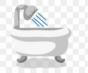 Vector Bathtub - Designer Furniture PNG