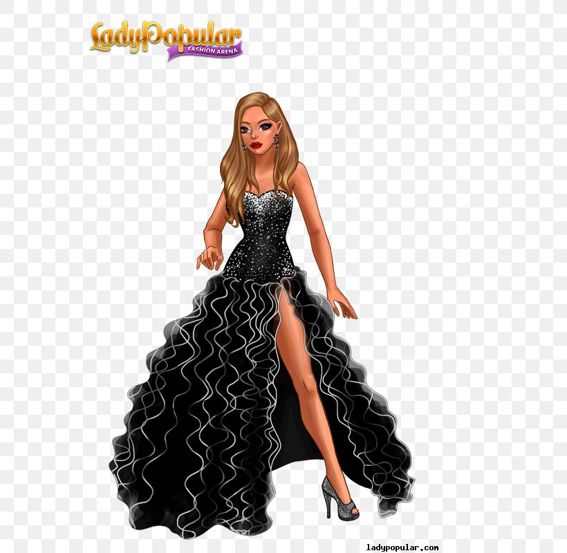 Lady Popular Game Fashion Xs Software Png 600x800px Lady Popular Barbie Costume Doll Dress Download Free