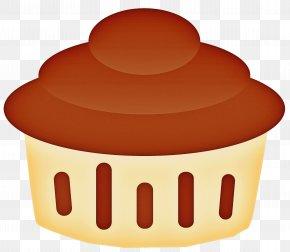 Muffin Cupcake - Orange PNG