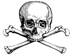 Skull And Crossbones Image - Skull And Bones Skull And Crossbones Human Skull Symbolism Calavera PNG