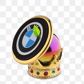 BMW Crown Cell Phone Holder - Car BMW Google Images Smartphone PNG
