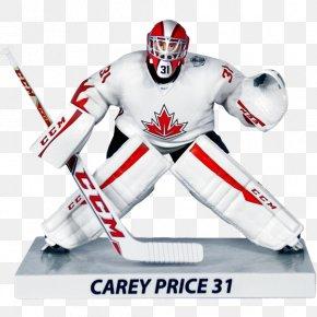 Carey Price - 2016 World Cup Of Hockey Canada Men's National Ice Hockey Team 2015–16 NHL Season Goaltender 2016–17 NHL Season PNG