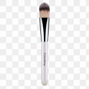 Grey Cosmetic Makeup Brush - Cosmetics Makeup Brush Make-up PNG