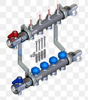 OMB Valves Stainless Steel - Pipe Flow Measurement Underfloor Heating Stainless Steel Valve PNG