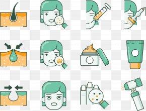 Skin Mirror Facial Health - Skin Care Dermatology PNG