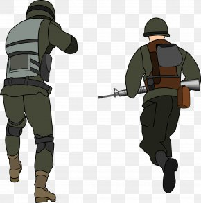 Soldier - Soldier Army Infantry Clip Art PNG