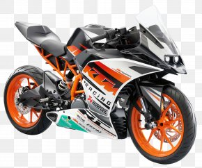 KTM RC390 Motorcycle Bike - KTM 1190 RC8 Motorcycle Sport Bike KTM 390 Series PNG