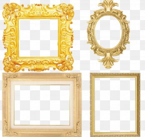 European-style Mirror Frame - Picture Frame Mirror PNG