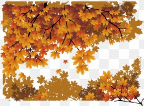 Maple Leaf Poster - Maple Leaf Autumn Poster PNG