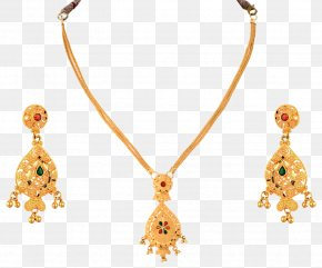Necklace - Necklace Jewellery Earring Chain Gold PNG