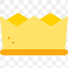Imperial Crown - Paper Yellow Area Pattern PNG