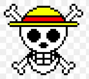 Jolly Roger Franky - Monkey D. Luffy One Piece Tower Tokyo Pixel Art Straw Hat Pirates PNG