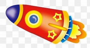 Cartoon Rocket - Rocket Spacecraft Download PNG