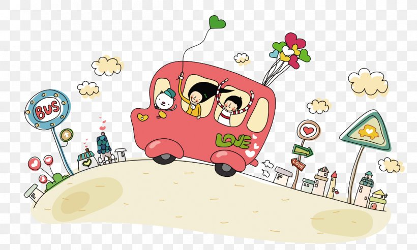 Bus Cartoon Animation Png 1200x721px Bus Animation Area Art