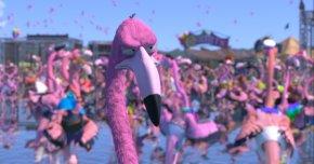 Flamingo - Film University Babelsberg KONRAD WOLF San Diego Jewish Film Festival Short Film Animation PNG