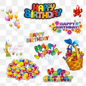Happy Happy Birthday,birthday - Happy Birthday To You Party Clip Art PNG