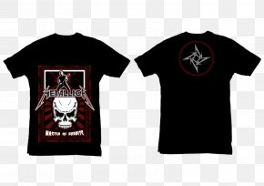 Metallica - Printed T-shirt Clothing Top PNG