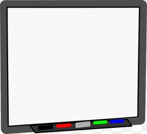 Projector Cliparts - Television Set Smart Board Student Computer Monitor Display Device PNG