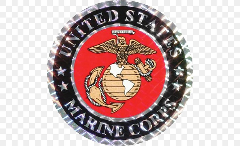 United States Marine Corps Eagle, Globe, And Anchor Commandant Of The Marine Corps Marines' Hymn, PNG, 500x500px, United States Marine Corps, Amphibious Warfare, Badge, Commandant Of The Marine Corps, Crest Download Free