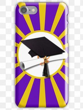 Purple Bubbles - Square Academic Cap Graduation Ceremony Diploma Hat PNG