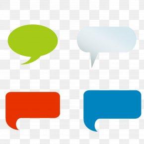 All Kinds Of Speech Bubble Box Vector Material - Speech Balloon Bubble Dialogue Euclidean Vector PNG