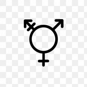 Symbol - Gender Symbol Transgender LGBT PNG